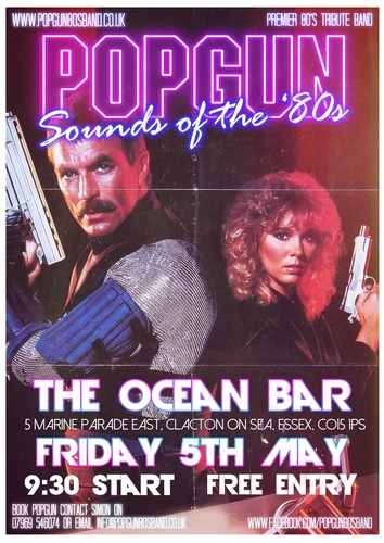 Popgun-80s-Bentleys Bar 5/5/2017