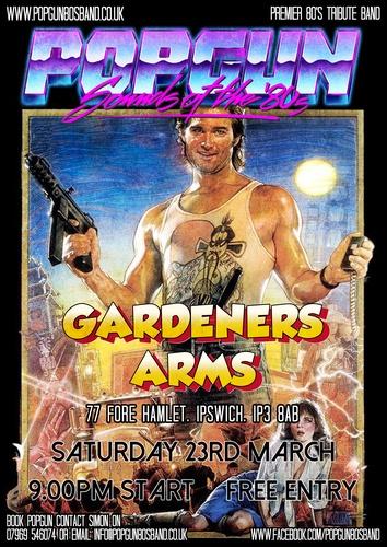Popgun-80s-The Gardeners Arms 3/23/2019