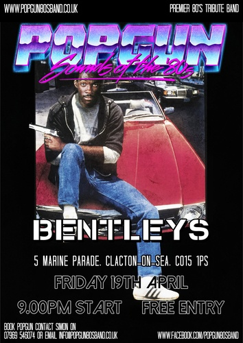 Popgun-80s-Bentleys Bar 4/19/2019