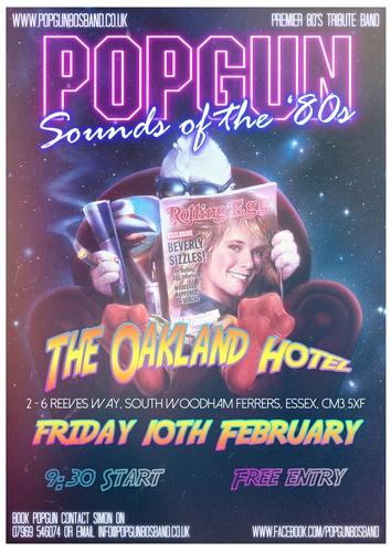 Popgun-80s-The-Oakland-Hotel-2/10/2017