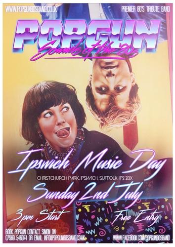 Popgun-80s-Ipswich Music Day 7/2/2017