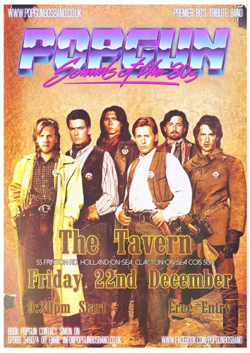 Popgun-80s-The-Tavern-12/22/2017