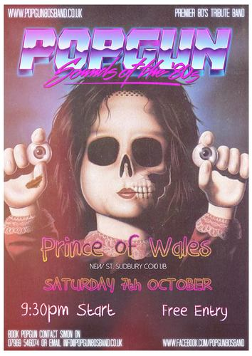 Popgun-80s-Prince-of-Wales-10/7/2017
