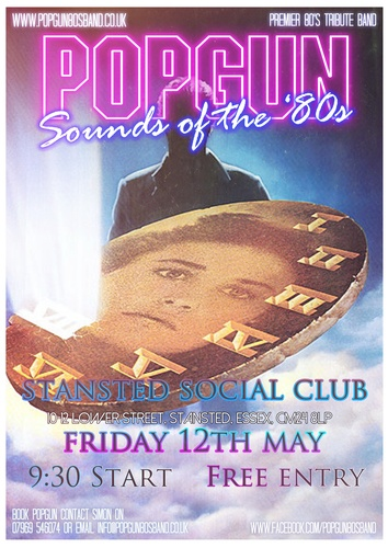 Popgun-80s-Stansted Social Club 5/12/2017
