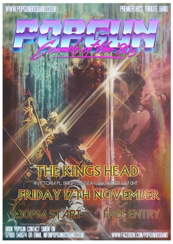 Popgun-80s-The Kings Head 11/17/2017