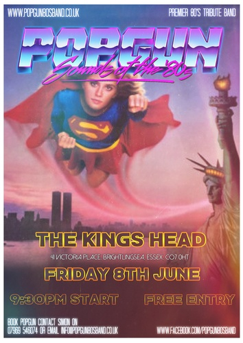 Popgun-80s-The Kings Head 6/8/2018