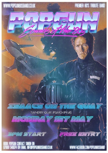 Popgun-80s-Isaacs on the Quay 5/1/2017