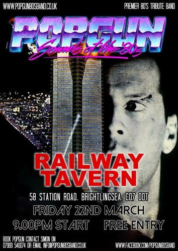 Popgun-80s-The Railway Tavern 3/22/2019