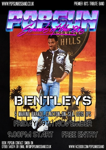 Popgun-80s-Bentleys Bar 11/29/2019