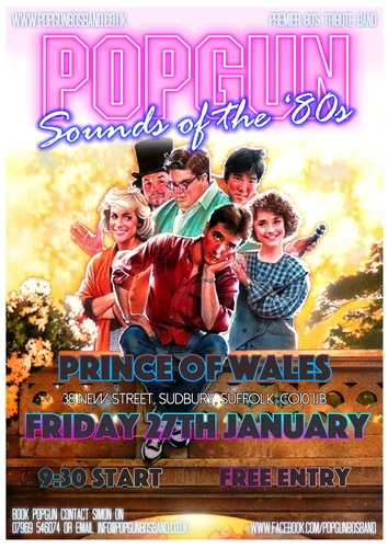 Popgun-80s-Prince of Wales 1/27/2017