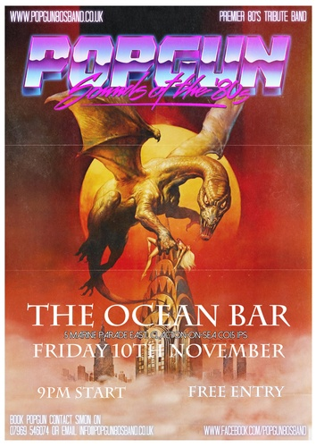 Popgun-80s-Bentleys Bar 11/10/2017