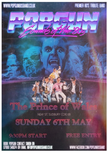 Popgun-80s-Prince of Wales 5/6/2018