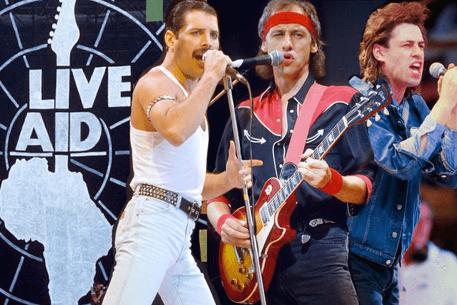 My Top Ten Live Aid Moments Popgun Sounds Of The 80s